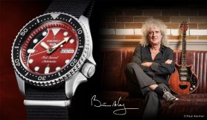 New Seiko 5 Sport With Brian May