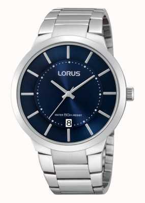 Lorus Inox montre habillée d'acier de Gent RS935BX9