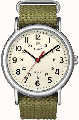Timex Mens quartz analogique T2N651