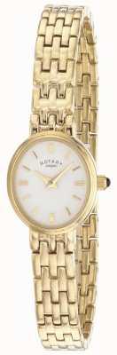 Rotary bracelet plaqué or pour dames LB02084/02