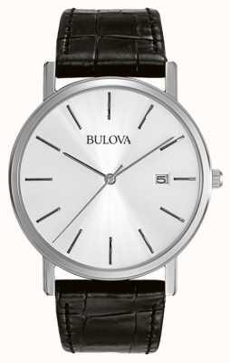 Montre homme Bulova noir argenté 96B104