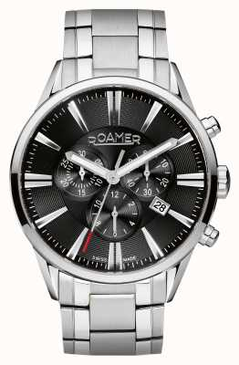 Roamer Mens montre chronographe en acier inoxydable 508837415550