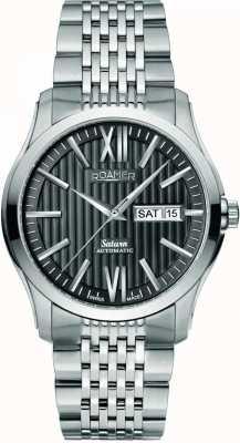 Roamer Mens montre bracelet en acier inoxydable 941637415390
