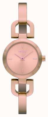 DKNY Mesdames montre en or rose en acier inoxydable NY8542