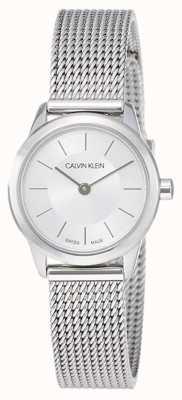 Calvin Klein Womens 'minimal | bracelet en acier inoxydable | K3M23126