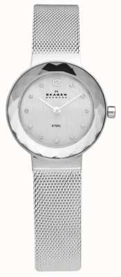 Skagen Montre-bracelet en maille d'acier dames 456SSS