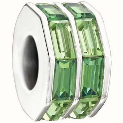 Chamilia-Swarovski collection à double-baguette-vert 2083-0400