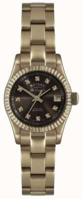 Rotary Montre Femme Les Originales Verbier Or Rose Ex-Display LB08153/16EX-DISPLAY
