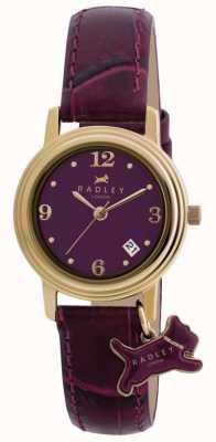 Radley Bracelet darlington en cuir violet pour femme RY2008S