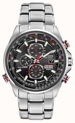 Citizen Flèches rouges de Gand à J9 chronographe Eco-Drive AT8060-50E