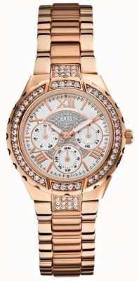 Guess Viva multidial Ladies or rose ton montre de sports W0111L3