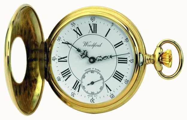 Woodford | demi chasseur | plaqué or | montre de poche | 1010