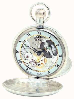 Woodford | squelette de chasseur | double couvercle | argent | montre de poche | 1002