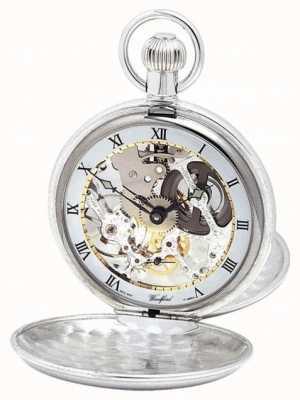 Woodford | squelette de chasseur | double couvercle | argent | montre de poche | 1003