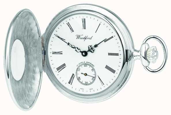 Woodford | demi chasseur | argent sterling | montre de poche | 1005