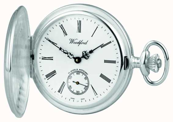 Woodford Argent chasseur pocketwatch 1064