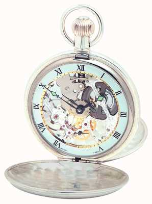 Woodford Argent double couvercle pocketwatch 1066