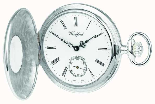 Woodford Argent 1/2 chasseur pocketwatch 1067