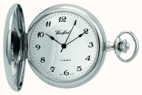 Woodford | chasseur complet | chromé | montre de poche | 1027