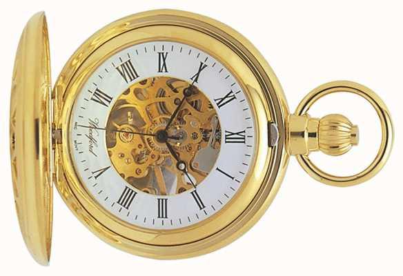 Woodford | squelette de chasseur | plaqué or découpé | montre de poche | 1029