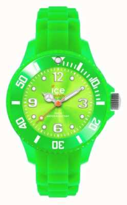 Ice-Watch Enfants pour toujours, silicone, vert SI.GN.M.S