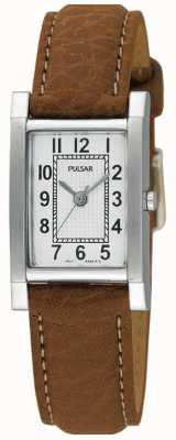 Montre Pulsar femme acier inoxydable, bracelet beige PC3163X1