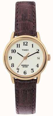 Timex Mesdames brun facile de montres de lecteur naturelle T20071
