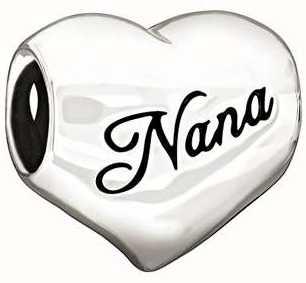 """Chamilia Argent sterling - """"j'aime nana"""" 2010-3131"""