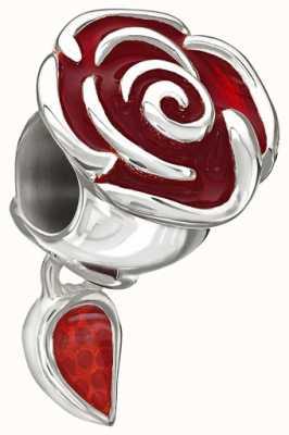 Chamilia Disney - enchanté rose de belle - émail rouge 2020-0707