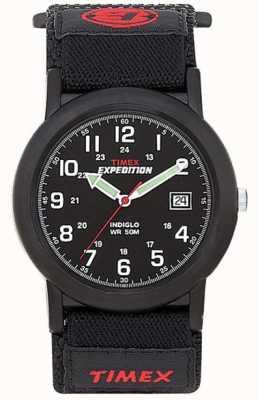 Timex Montre d'expédition pour hommes noir T40011