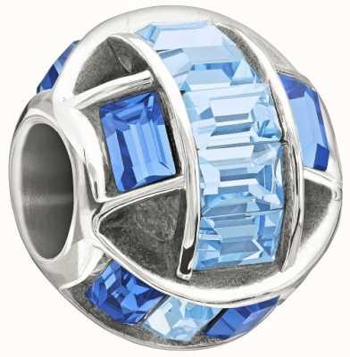 Chamilia Argent sterling avec la pierre - envoûté - bleu swarovski 2083-0464