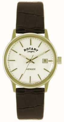 Rotary gents Avenger plaque or montre bracelet GS02876/03