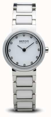 Bering Montre céramique bicolore minimaliste 10725-754