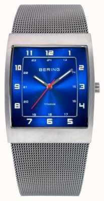 Bering Gents acier inoxydable montre analogique à quartz 11233-078