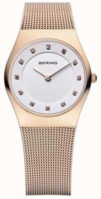 Bering Mesdames acier inoxydable montre analogique à quartz 11927-366