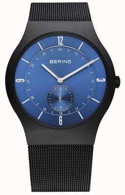 Bering Gents acier inoxydable montre analogique à quartz 11940-227
