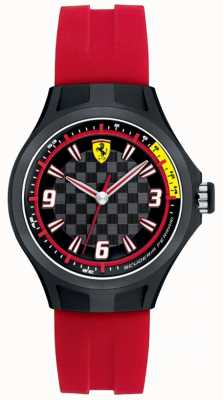 Scuderia Ferrari Chaussure en caoutchouc rouge de l'équipe de fosse féminine 0820002