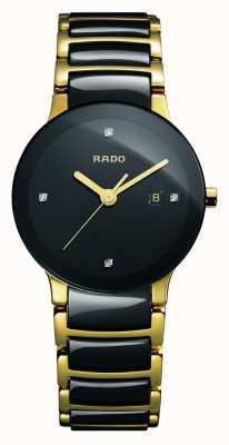 Rado | diamants centrix | céramique high-tech | cadran noir | R30930712