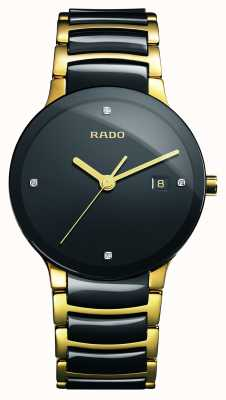 Rado | diamants centrix | céramique high-tech | cadran noir | R30929712