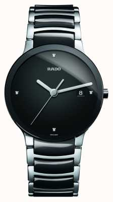 Rado | diamants centrix | céramique high-tech | cadran noir | R30934712