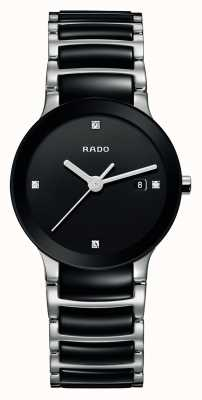 Rado | diamants centrix | céramique high-tech | cadran noir | R30935712