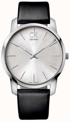 Calvin Klein Mens montre ville K2G211C6