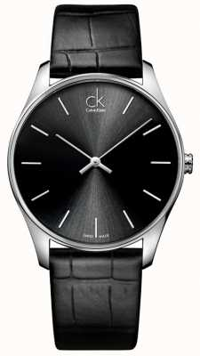 Calvin Klein Mens classique Black Watch K4D211C1