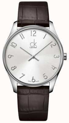 Calvin Klein Mens Montre classique K4D211G6
