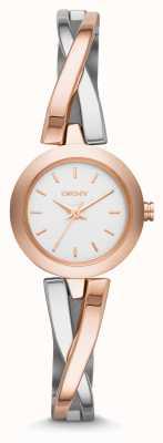 DKNY L'acier crosswalk Ladies & rose montre bracelet NY2172