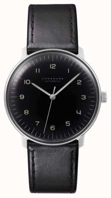 Junghans Hommes Max Bill Automatic Black Leather 027/3400.00