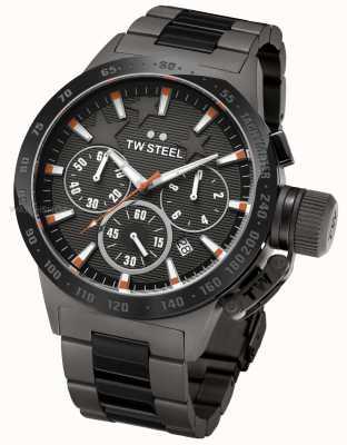 TW Steel Michel cantine mens chronographe noir TW0313