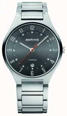 Bering Titane Gents montre analogique à quartz 11739-772