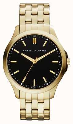 Armani Exchange Mens hampton profil bas montre AX2145