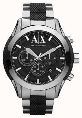 Armani Exchange Actif montre bracelet en acier inoxydable AX1214